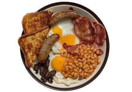 The Full English Breakfast | 2 Guys Breakfast Blog